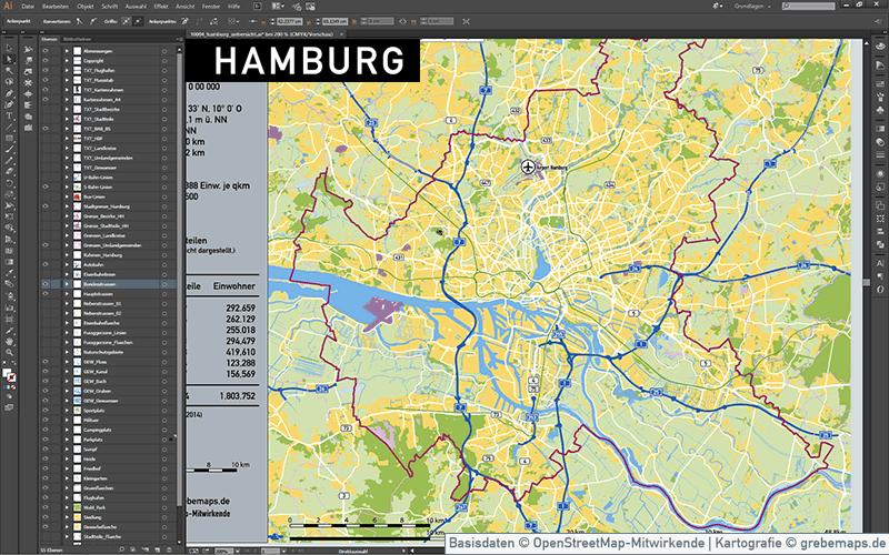 Flüchtlingsunterkünfte Hamburg Karte