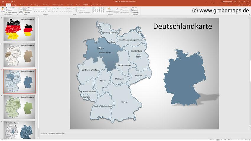 Deutschland PowerPoint-Karte Bundesländer, Bundesländer Karte Deutschland PowerPointDeutschland PowerPoint-Karte Bundesländer, Bundesländer Karte Deutschland PowerPoint