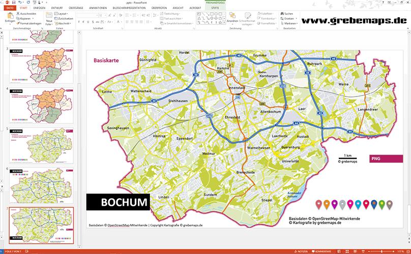 Amazon Karte Bochum