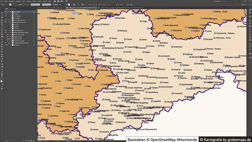 Deutschland Karte Autobahnen Und Städte.Deutschland Postleitzahlenkarte Plz 1 2 3 Vektorkarte 3 Stellig Autobahnen 2017