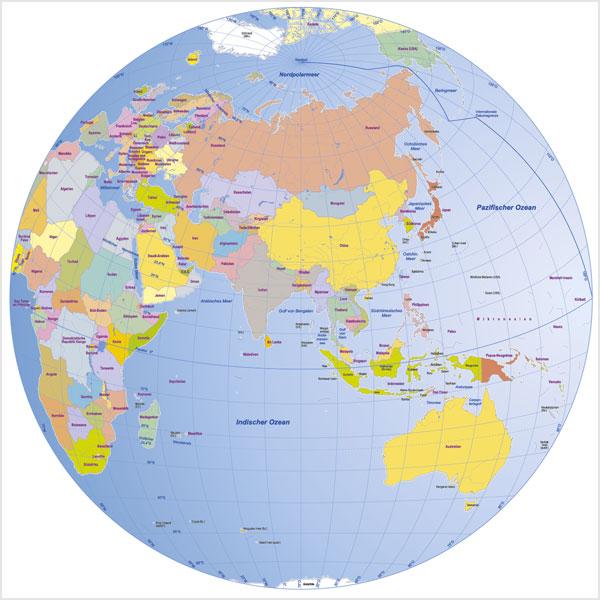 Weltkarte Globen Vektorkarten