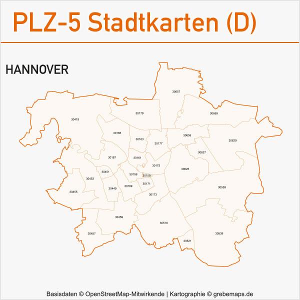 postleitzahlen karten plz 5 vektor stadtkarten deutschland grebemaps kartographie. Black Bedroom Furniture Sets. Home Design Ideas