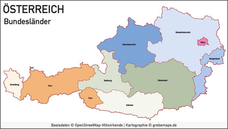 Austria Österreich Vektorkarte Bundesländer Bezirke Gemeinden, Karte Österreich Bezirke, Karte Österreich Bundesländer, Karte Österreich Gemeinden, Karte Austria Bundesländer, Karte Austria Gemeinden, Karte Austria Bezirke, Karte Vektor Österreich
