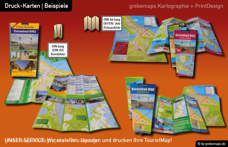 Ortsplan Binz Ostseebad auf Rügen, Binz Ostseebad auf Rügen Ortsplan, Karte Binz, Karte Ortsplan Binz, Ostseebad Binz Karte, Plan Binz, Stadtplan Binz, touristische Karte Binz, TouristMap Binz