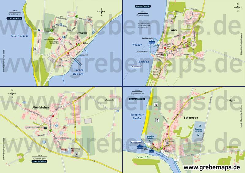 70023_ortskarte_dranske_wiek_altenkirchen_schaprode_ruegen