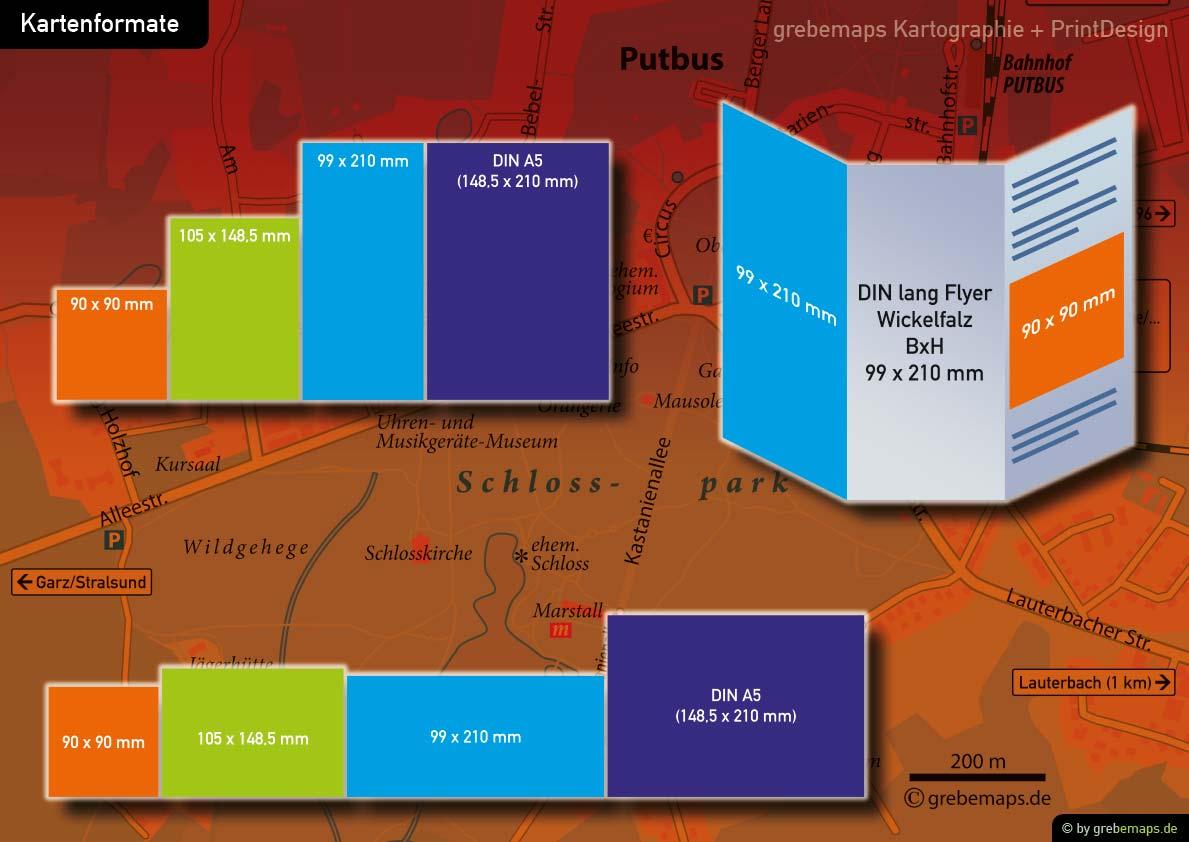 Touristische Karte Erstellen - Kartenformate, Karte Für Tourismus Erstellen, Tourismuskarte Erstellen