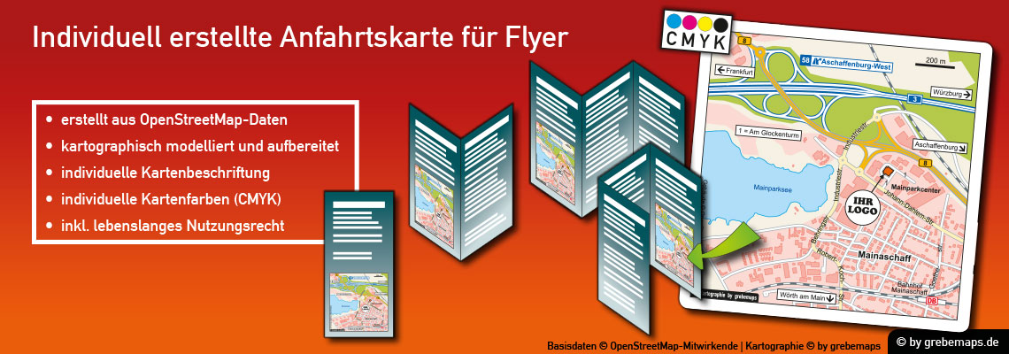 Anfahrtsskizze Erstellen Für Flyer, Anfahrtskarte Erstellen Für Flyer