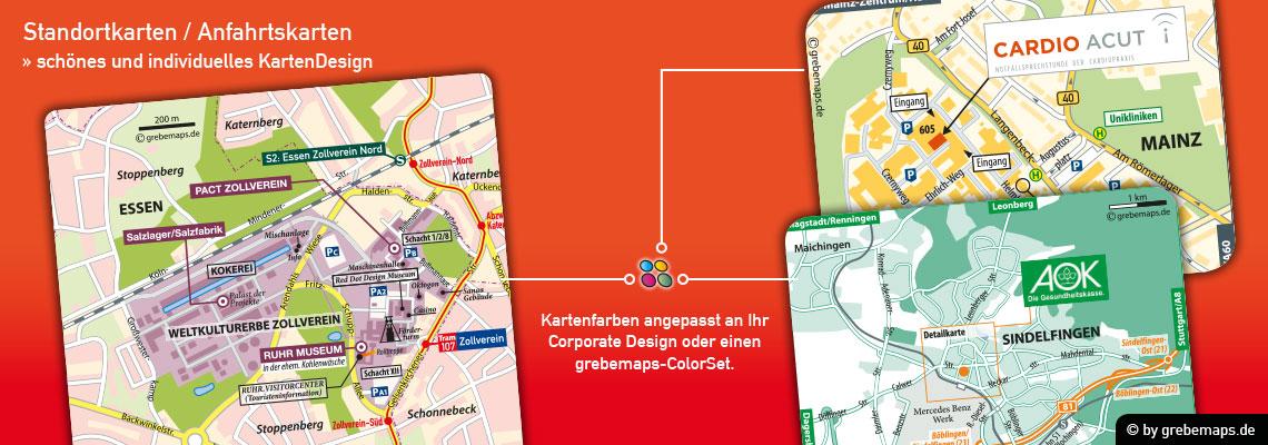 Anfahrtsskizze Erstellen, Anfahrtskarte Erstellen, Standortkarte Erstellen