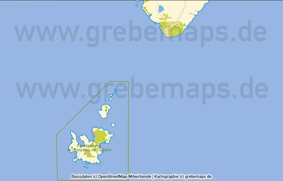 Mallorca Vektorkarte Topographie, Karte Mallorca Topographie, Basis-Karte Mallorca Vektor, Vektorgrafik Mallorca, Insel-Karte Mallorca, Karte Mallorca AI
