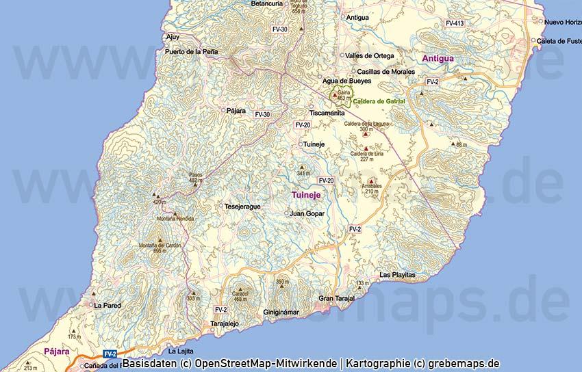 Karte Fuerteventura, Fuerteventura Vektorkarte Topographie Gemeinden Höhenschichten, Vektorkarte Fuerteventura, Karte Fuerteventura, Landkarte Fuerteventura, Inselkarte Fuerteventura, Karte Fuerteventura Topographie, Karte Fuerteventura Höhenschichten, Karte Fuerteventura Physisch
