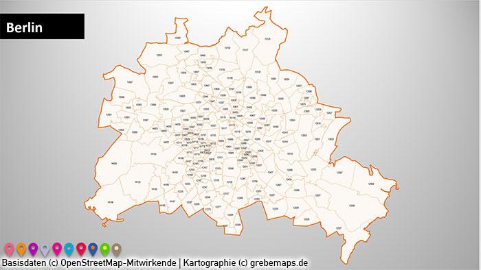 Karte Ruhrgebiet Städte.Powerpoint Karte Stadtkarten Postleitzahlen Plz 5 Deutschland Plz 5 Stellig 73 Städte