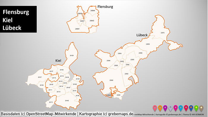 postleitzahlen flensburg