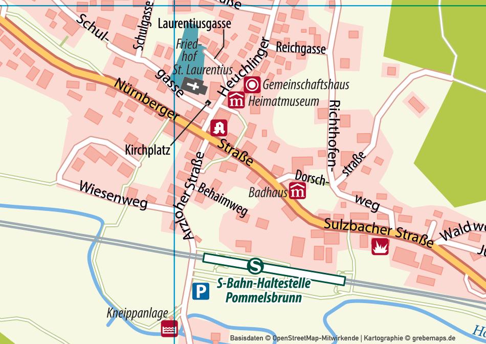 Ortsplan erstellen, Stadtplan erstellen, touristische Karte erstellen, Basiskarte erstellen, Lageplan erstellen, Ortskarte erstellen, Landkarte erstellen
