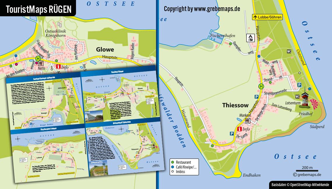 Touristische Karte Erstellen, Karte Für Tourismus Erstellen, Tourismuskarte Erstellen