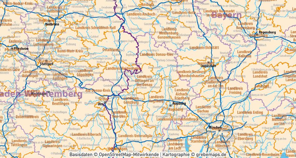 Business-/Grafiker-BasiskartenSet Deutschland Landkreise Autobahnen Orte Postleitzahlen PLZ-1-2 Vektorkarte (DIN A3), Karte Deutschland Autobahnen, Karte Deutschland Landkreise, VektorKarte Deutschland Landkreise, AI-Datei, download, editierbar, ebenen-separiert, germany vector map