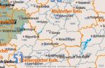 Deutschland Postleitzahlenkarte PLZ-1-2-5 Gruppierte Ebenen Mit Landkreisen Bundesländern Ortsnamen Vektorkarte (2020), Karte PLZ Deutschland, PLZ-Karte Deutschland Vektor, Vektorkarte PLZ Deutschland, Karte Deutschland PLZ, Vektor, AI, Download, Editierbar