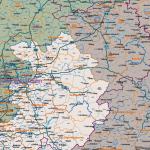 Deutschland Postleitzahlenkarte PLZ-1-2-3-4-5 Vektorkarte Mit Landkreisen, Vektorgrafik, PLZ-Karte Deutschland 5-stellig, PLZ-Karte Deutschland 4-stellig, PLZ-Karte Deutschland 3-stellig, PLZ-Karte Deutschland 2-stellig, PLZ-Karte Deutschland 1-stellig, AI, Download, Editierbar