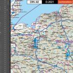 Deutschland Postleitzahlenkarte PLZ-1-5 Mit Landkreisen Bundesländern Autobahnen Ortsnamen Vektorkarte, Karte PLZ Deutschland, Vektorkarte PLZ Deutschland, PLZ-Karte Deutschland, AI, Download, Editierbar